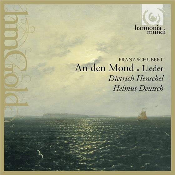 Franz Schubert (1797-1828), Dietrich Henschel & Helmut Deutsch - An Den Mond - Lieder - Harmonia Mundi Gold