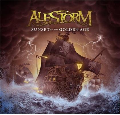 Alestorm - Sunset On The Golden Age (Mediabook Edition, 2 CDs)