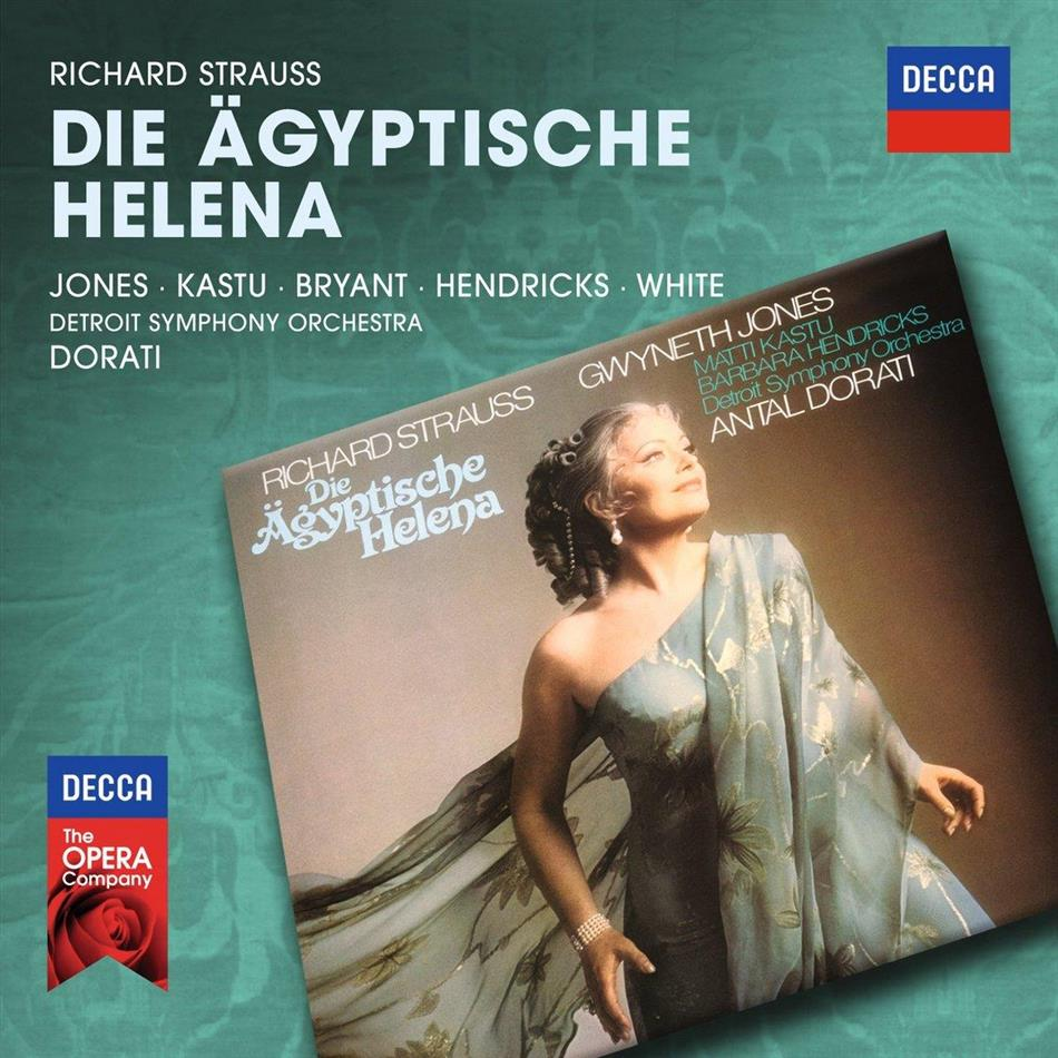 Gwyneth Jones, Barbara Hendricks, Patti Dell, Dinah Bryant, Matti Kastu, … - Die Ägyptische Helena (2 CDs)