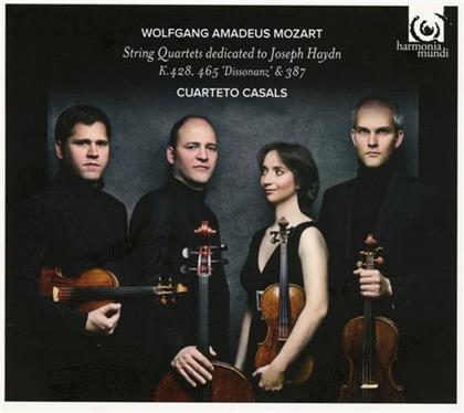 Cuarteto Casals & Wolfgang Amadeus Mozart (1756-1791) - 3 String Quartets Dedicated To Joseph Haydn
