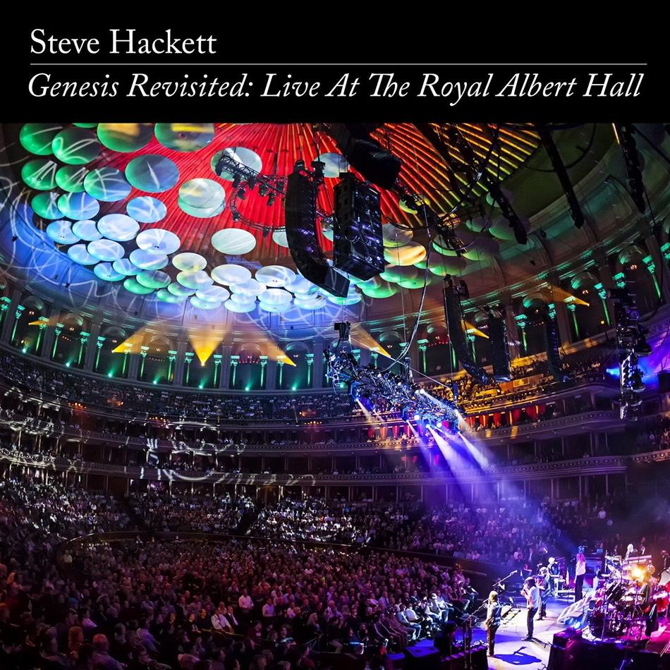Steve Hackett - Genesis Revisited: Live At The Royal Albert Hall - US Version ohne FSK Kleber (2 CDs + DVD)