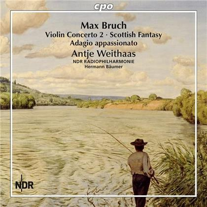 Max Bruch (1838-1920), Antje Weithaas & NDR Radiophilharmonie Hannover - Complete Works For Violin & Orchestra Vol. 1