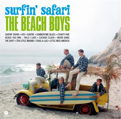 The Beach Boys - Surfin' Safari - Wax Time (LP)