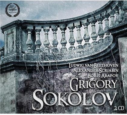 Ludwig van Beethoven (1770-1827), Alexander Scriabin (1872-1915), Arapov & Grigory Sokolov - Piano Sonate No. 7 / Piano Sonate No. 3 / Piano Sonate (2 CDs)