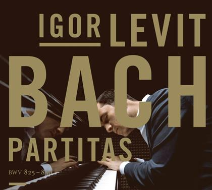 Johann Sebastian Bach (1685-1750) & Igor Levit - Partitas I-VI Bwv 825-830 (2 CDs)