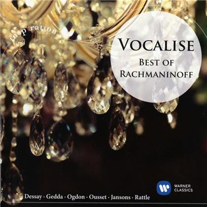 Sergej Rachmaninoff (1873-1943), Sir Simon Rattle, Mariss Jansons, Michel Plasson & John Ogdon - Best Of Rachmaninoff