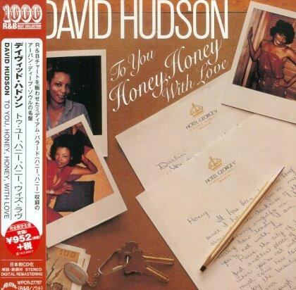 David Hudson - To You Honey, Honey (Remastered)