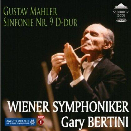Gustav Mahler (1860-1911), Gary Bertini & Wiener Symphoniker - Symphony No. 9 (2 CDs)