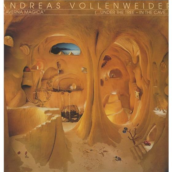 Andreas Vollenweider - Caverna Magica (LP)