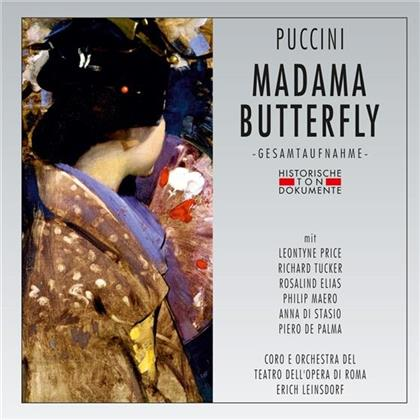 Giacomo Puccini (1858-1924), Leontyne Price, Richard Tucker, Rosalind Elias, Erich Leinsdorf, … - Madama Butterfly - 1962 (2 CDs)