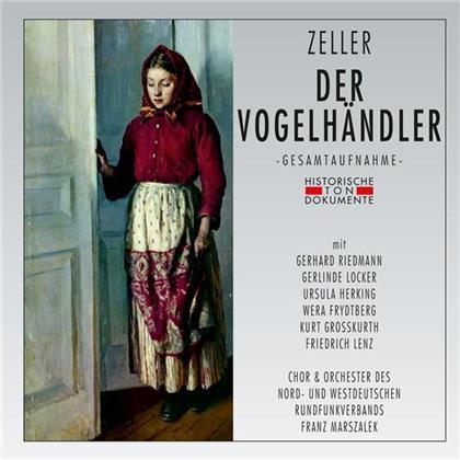 Gerhard Riedmann, Gerlinde Locker, Ursula Herking, Carl Zeller, Franz Marszalek, … - Der Vogelhändler (2 CDs)