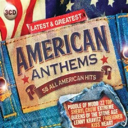 American Anthems Latest (3 CDs)