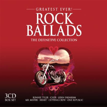 Greatest Ever Rock Ballads - Various - Definitive Collection (3 CDs)