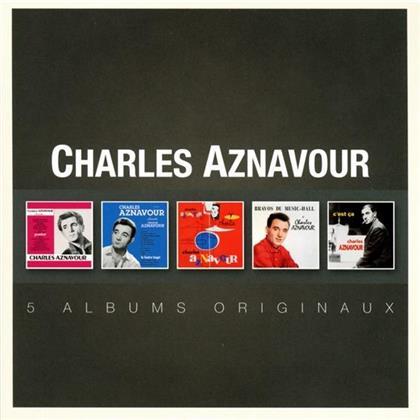 Charles Aznavour - Original Album Series (5 CDs)