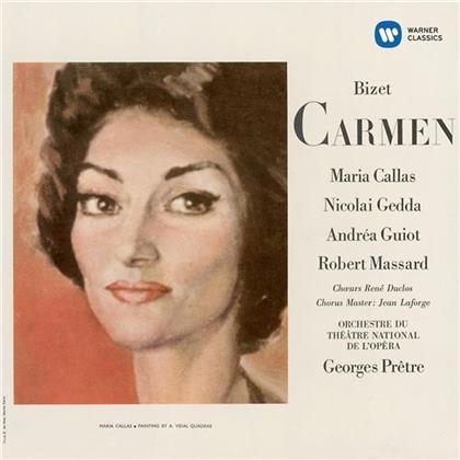 Nicolai Gedda, Andrea Guiot, Claude Duclos, Georges Bizet (1838-1875), Georges Prêtre, … - Carmen 1964 - 1964 - Remastered 2014 (Remastered, 2 CDs)
