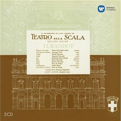 Eugenio Fernandi, Nicola Zaccaria, Giacomo Puccini (1858-1924), Tullio Serafin, Maria Callas, … - Turandot - Remastered 2014 (Remastered, 2 CDs)