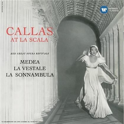 Luigi Cherubini (1760-1842), Gaspare Spontini (1774-1851), Vincenzo Bellini (1801-1835), Tullio Serafin, Maria Callas, … - Callas At La Scala - Remastered 2014 (Remastered)