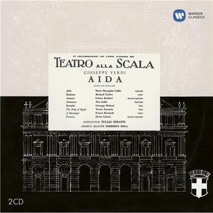 Richard Tucker, Fedora Barbieri, Nicola Zaccaria, Franco Ricciardi, Giuseppe Verdi (1813-1901), … - Aida - Remastered 2014 (Remastered, 2 CDs)