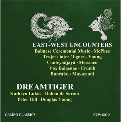 Colin McPhee, Young, Olivier Messiaen (1908-1992), George Crumb (*1929), Mayazumi, … - Dreamtiger - East-West Encounters