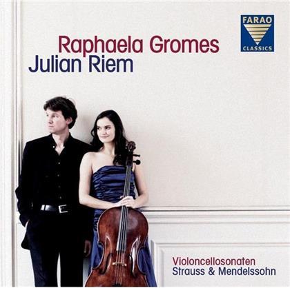 Richard Strauss (1864-1949), Felix Mendelssohn-Bartholdy (1809-1847), Raphaela Gromes & Julian Riem - Violoncellosonaten