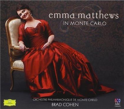 Brad Cohen, Emma Matthews & Orchestre Philharmonique De Monte-Carlo - Emma Matthews In Monte Carlo