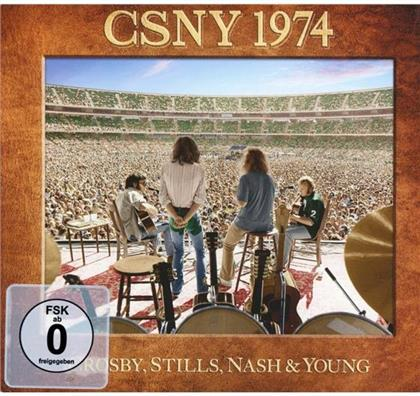 Crosby Stills Nash & Young - CSNY 1974 - Blu_Ray Audio Only (Blu-ray + DVD)