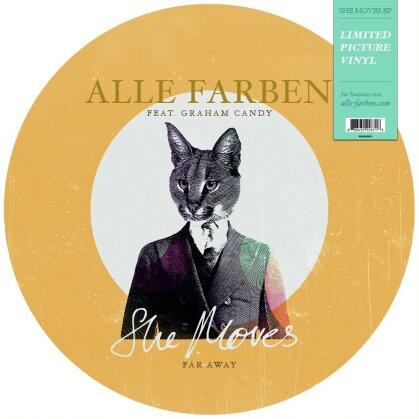 """Alle Farben - She Moves (Far Away) (12"""" Maxi)"""