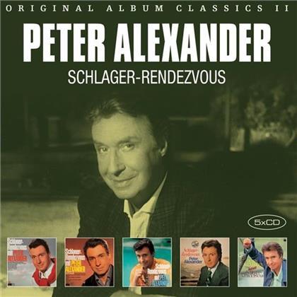 Peter Alexander - Original Album Classics 2 (5 CDs)