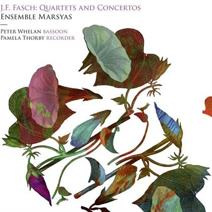 Johann Friedrich Fasch (1688-1758), Pamela Thorby, Peter Whelan & Ensemble Marsyas - Quartets And Concertos