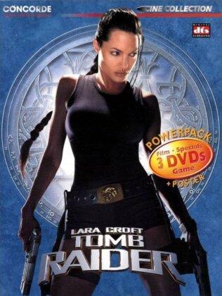 Lara Croft: Tomb Raider (2001) (Digipack, Edizione Speciale, 3 DVD)
