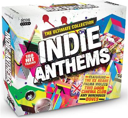 Indie Anthems - Various 2014 (5 CDs)
