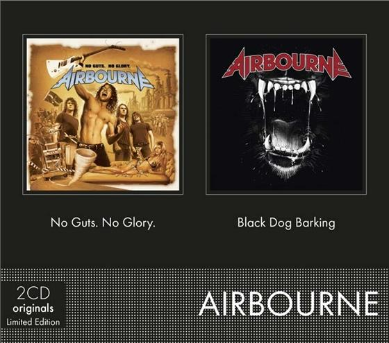 Airbourne - No Guts No Glory / Black Dog Barking (2 CDs)