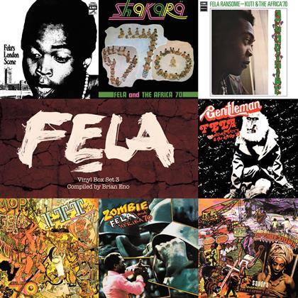 Fela Anikulapo Kuti - Boxset 3 - Compiled By Brian Eno (7 LPs)