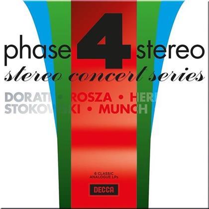 Divers, Antal Dorati (1906-1988), Bernard Herrmann, Charles Münch, Miklós Rózsa (1907-1995), … - Phase Four Stereo - Stereo Concert Series (6 LPs)