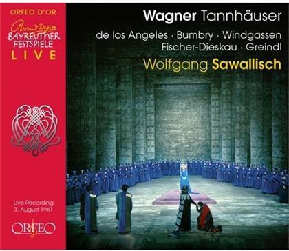 Wolfgang Windgassen, Richard Wagner (1813-1883) & Dietrich Fischer-Dieskau - Tannhäuser (Bayreuth 3.8.1961)