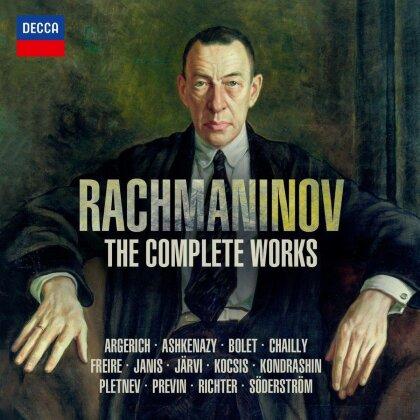 Martha Argerich, Vladimir Ashkenazy, Jorge Bolet, Riccardo Chailly, Nelson Freire, … - Rachmaninov: The Complete Works (32 CDs)