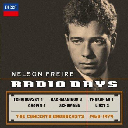 Nelson Freire, Frédéric Chopin (1810-1849), Sergej Rachmaninoff (1873-1943), Robert Schumann (1810-1856), Serge Prokofieff (1891-1953), … - Radio Days - Concerto Broadcasts 1968-1979 (2 CDs)
