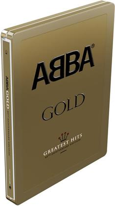 ABBA - Gold (Gold Steel Box Edition , 40th Anniversary Edition, 3 CDs)