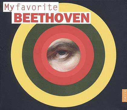 Ludwig van Beethoven (1770-1827), Emmanuel Krivine, Philippe Herreweghe, Philippe Jordan, Patricia Kopatchinskaja, … - My Favorite Beethoven (4 CDs)