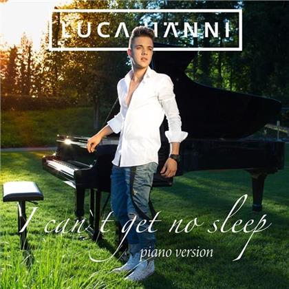 Luca Hänni (DSDS) - I Can't Get No Sleep - Piano Version