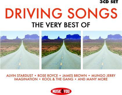 Drivings Songs - Music4you (3 CDs)