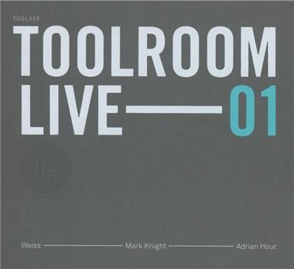 Toolroom Live - Various 01 - Mixed (3 CDs)