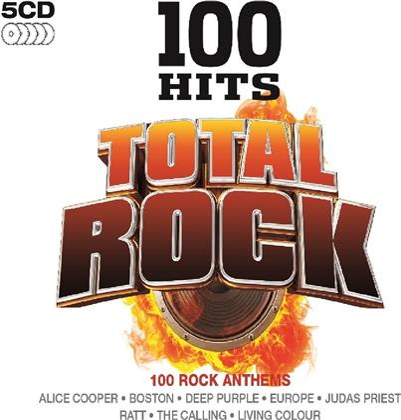 100 Hits - Total Rock (5 CDs)