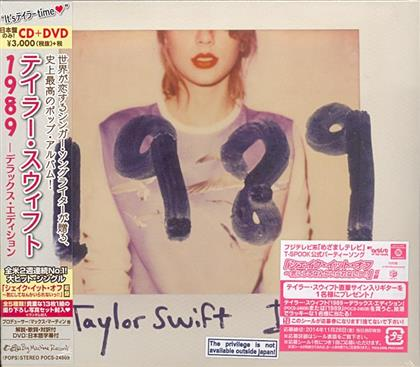 Taylor Swift - 1989 (Japan Edition, Deluxe Edition, CD + DVD)