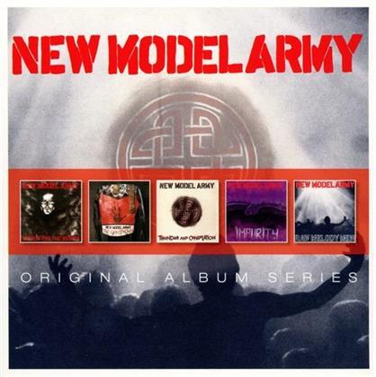 New Model Army - Original Album Series (5 CDs)