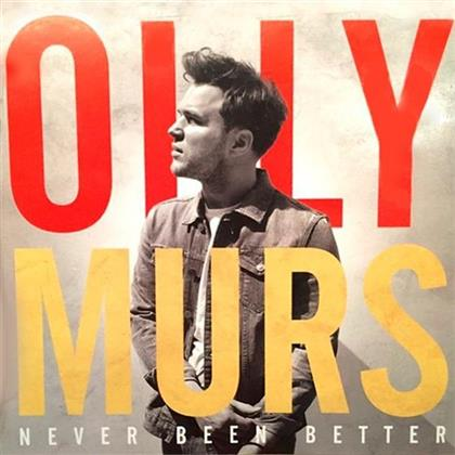Olly Murs - Never Been Better - 13 Tracks