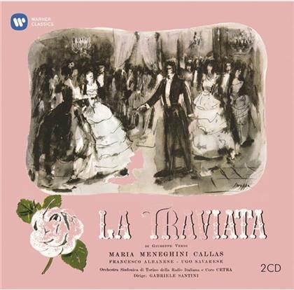 Albanese, Savarese, Santini, Giuseppe Verdi (1813-1901) & Maria Callas - La Traviata - Remastered 2014 (Remastered, 2 CDs)