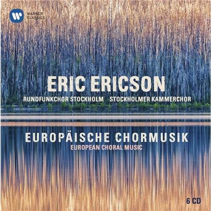 Eric Ericson, Johannes Brahms (1833-1897), György Ligeti (1923-2006), Claudio Monteverdi (1567-1643), +, … - Europäische Chormusik (Collector's Edition, 6 CDs)