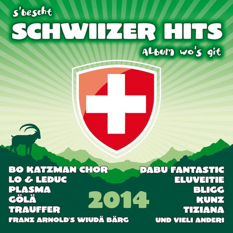 S'bescht Schwiizer Hits Album - Various 2014