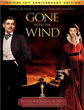 Gone with the Wind (1939) (70th Anniversary Edition, 2 DVDs)